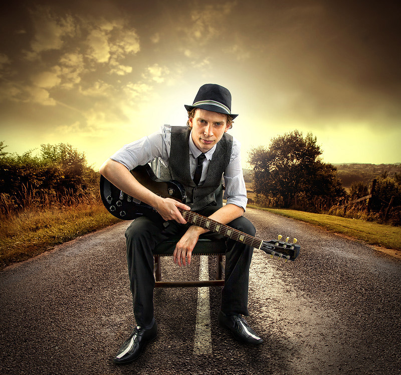 Photograph Guitarist by Steve Horsfall on 500px