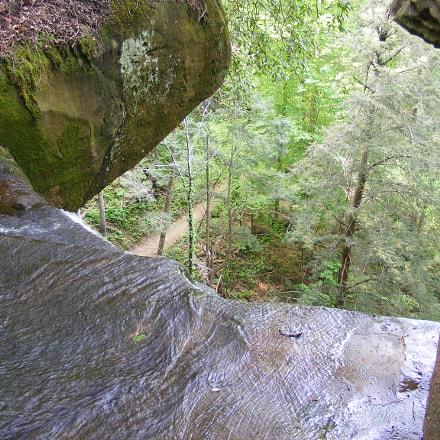 Top of the falls, Fujifilm FinePix S5700 S700