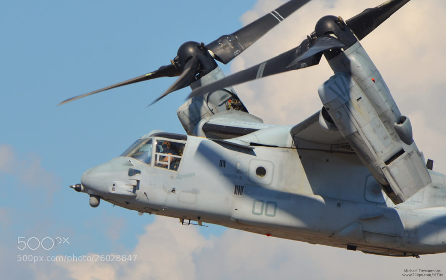 Photograph MV-22 Osprey by Michael Fitzsimmons on 500px