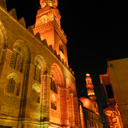 old cairo mosques by, Nikon COOLPIX P100