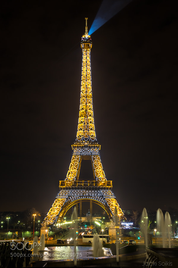 Photograph Eiffel Tour  by Jacki Soikis on 500px