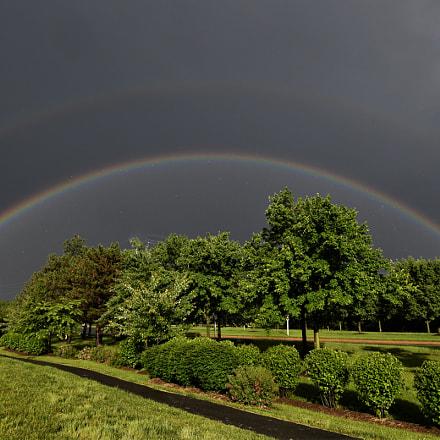 Double Rainbow, Nikon D850, AF-S Zoom-Nikkor 14-24mm f/2.8G ED