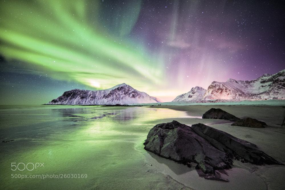 Photograph Aurora Outburst by Dominik Beedgen on 500px