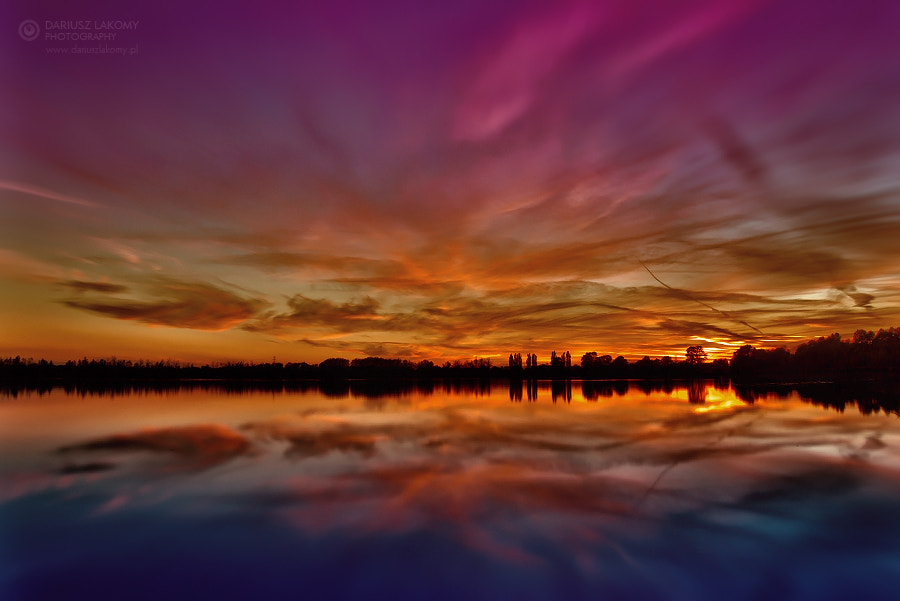 Photograph end of a day by Dariusz Łakomy on 500px