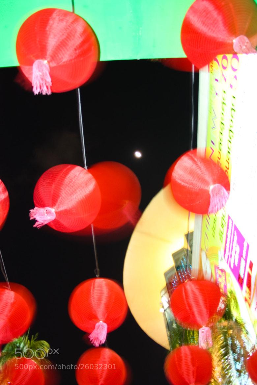 Photograph Chinese lantern - Bangkok siam at night by Olivier Bergeron on 500px