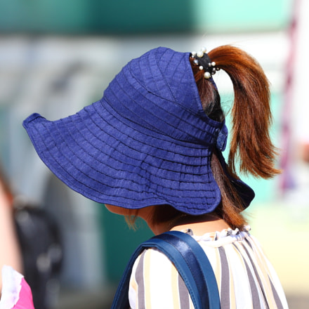 Wearing a Panama hat, Canon EOS 5D MARK III, Canon EF 70-300mm f/4-5.6L IS USM