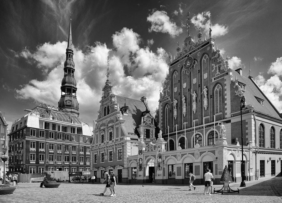 House of The Blackheads Old Town Riga by Matt MacDonald on 500px.com