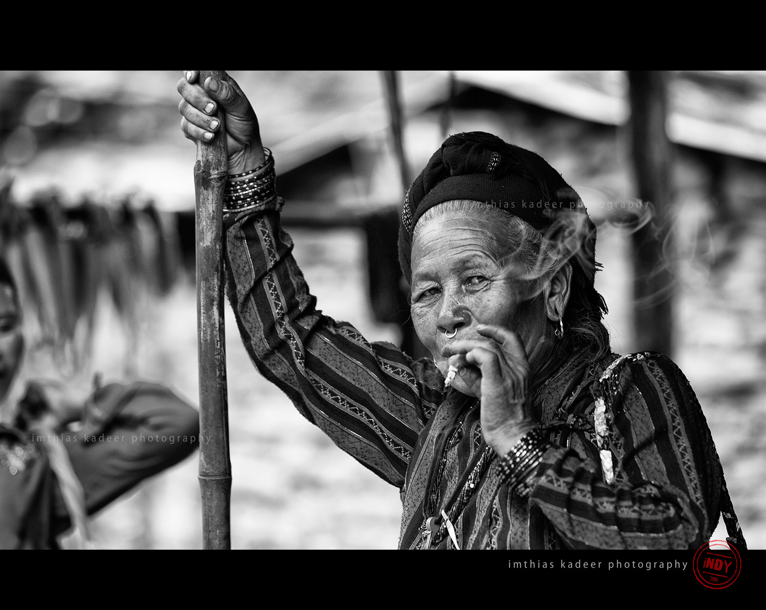 Photograph Smoking Haute Grandma :) by Indy Imthi on 500px