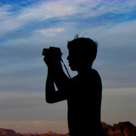 Wadi rum desert, Canon POWERSHOT SX500 IS