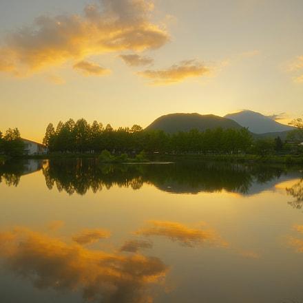 Today's dusk, RICOH PENTAX K-3, smc PENTAX-DA* 16-50mm F2.8 ED AL [IF] SDM