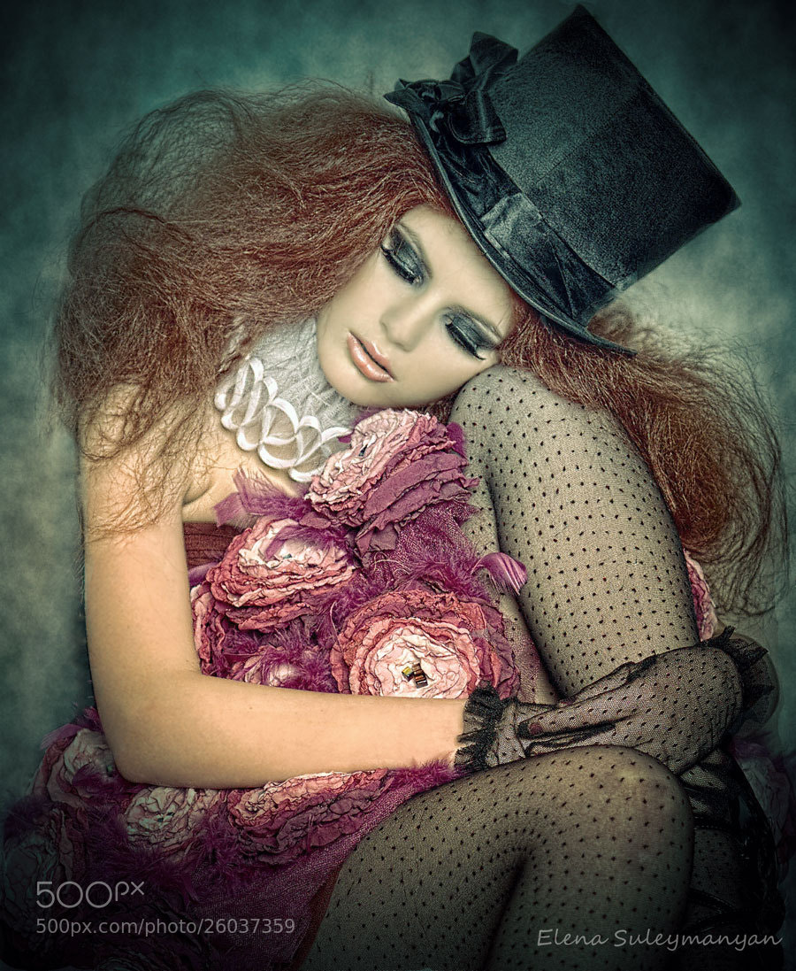 Photograph doll by Elena Suleymanyan on 500px