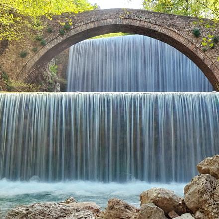 Palaiokarya bridge, Greece, Sony ILCE-5000, Sony E PZ 16-50mm F3.5-5.6 OSS
