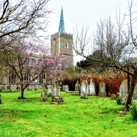 Nayland church, Sony DSC-WX300