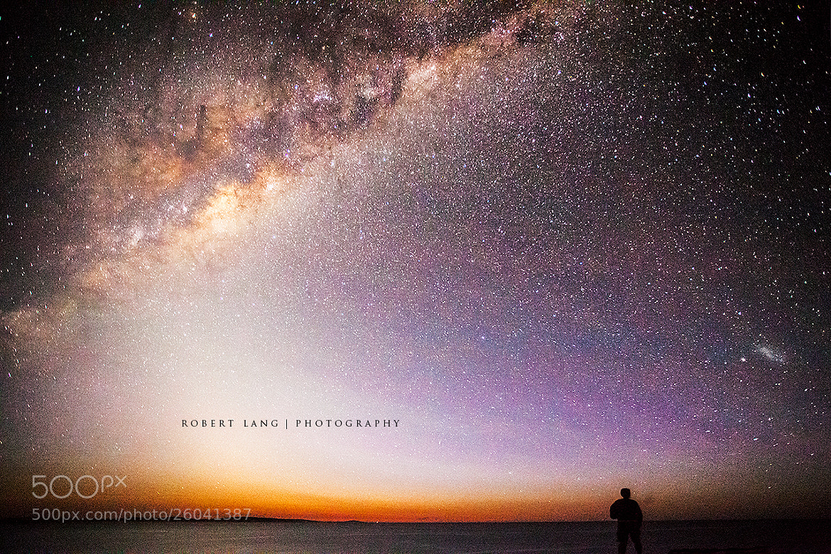Photograph Milky Way, South Australia by Robert Lang on 500px