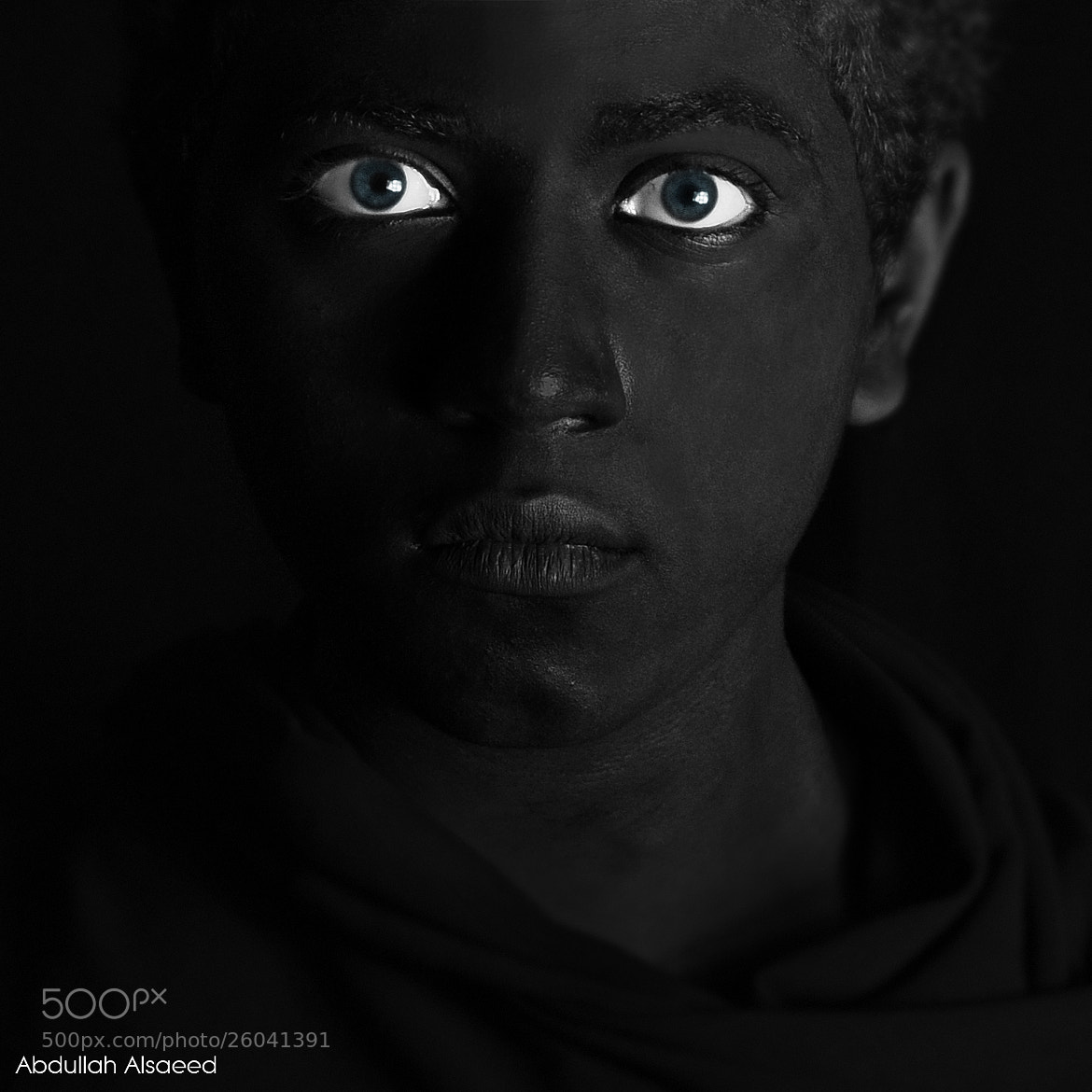 Photograph The black guy by abdullah mohammed on 500px