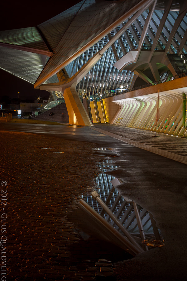 Photograph Night Reflections by Guus Quaedvlieg on 500px