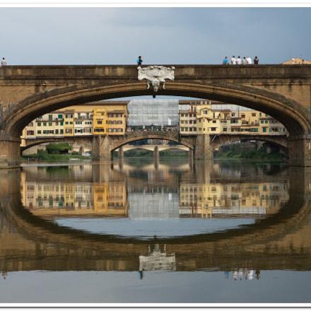 bridges of Florence, Canon EOS 500D