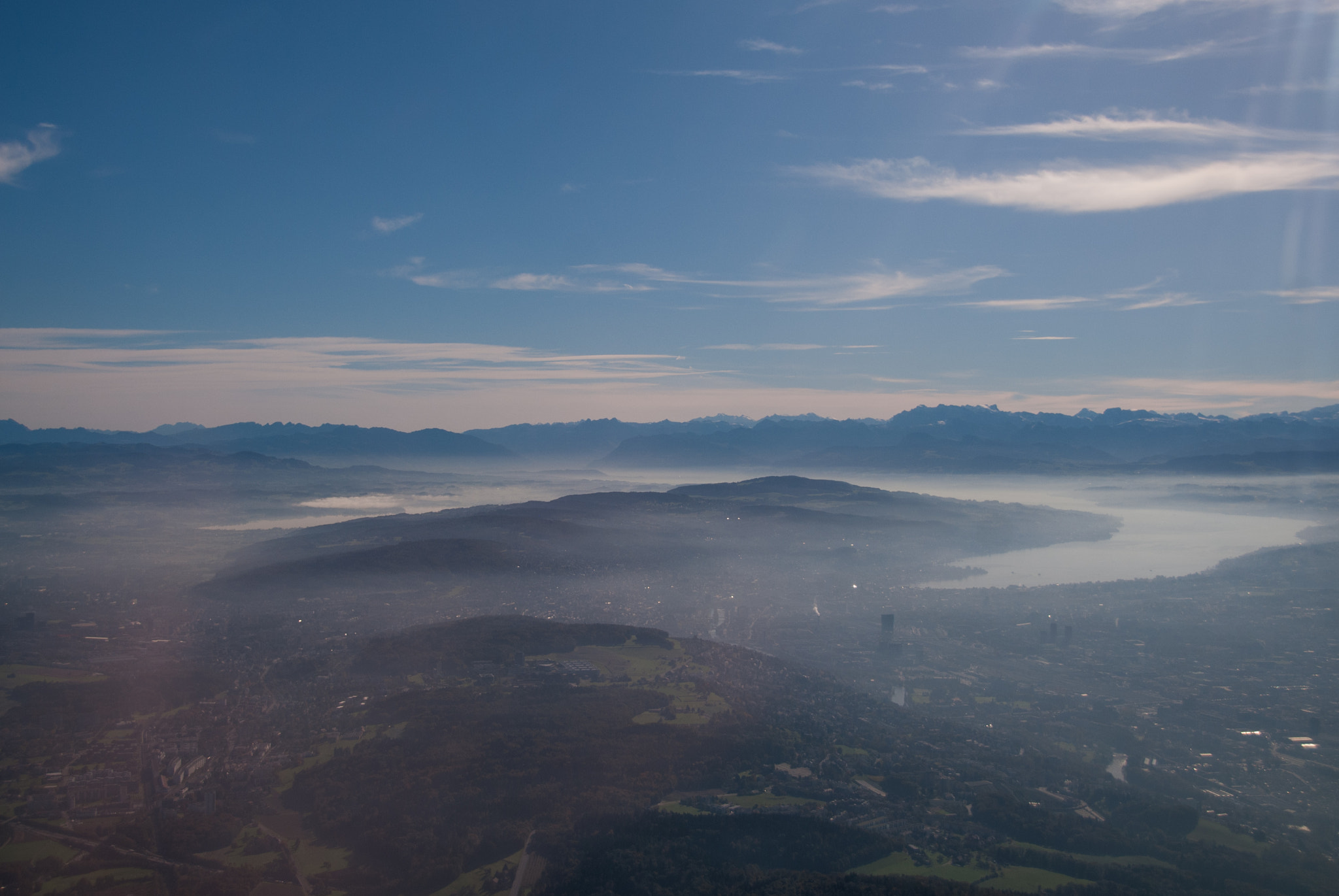 Photograph Zürich from the Air by Dennis Eitner on 500px