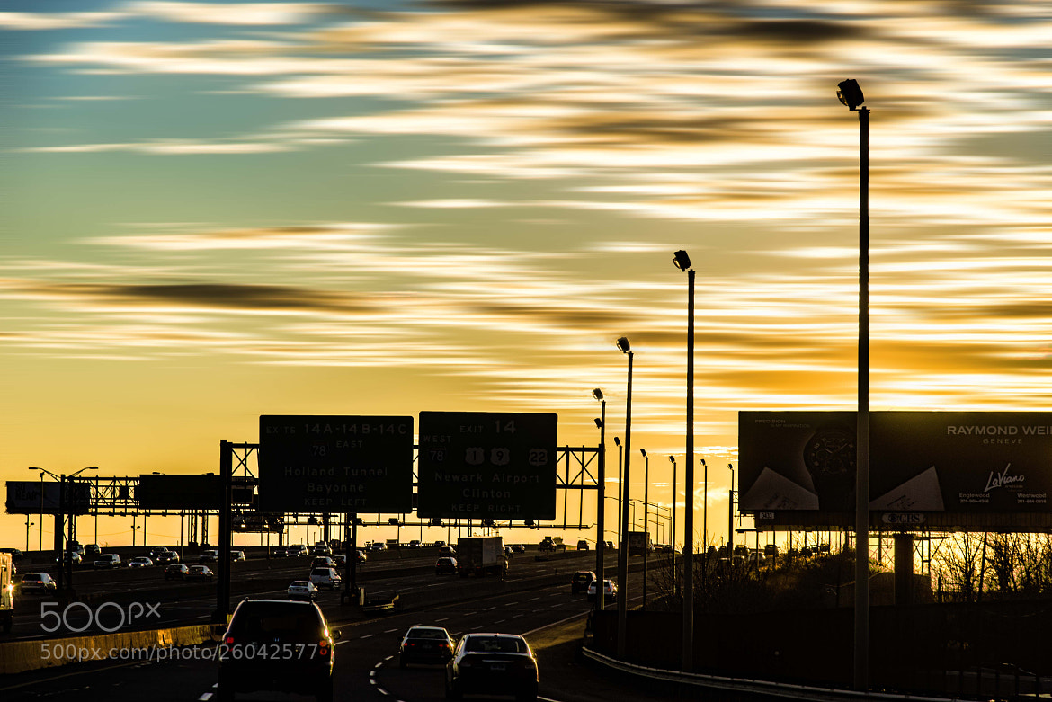 Photograph HighwayAtSunset by Coolor Foto on 500px