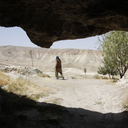 Cave in Samangan, Canon EOS 40D, Canon EF-S 10-22mm f/3.5-4.5 USM