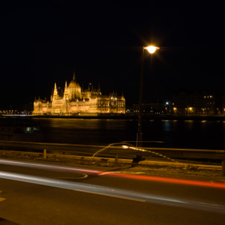 Hungarian parliament by night, Nikon D3