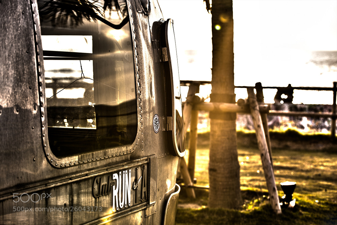 Photograph Sunset Trailer by hugh dornan on 500px