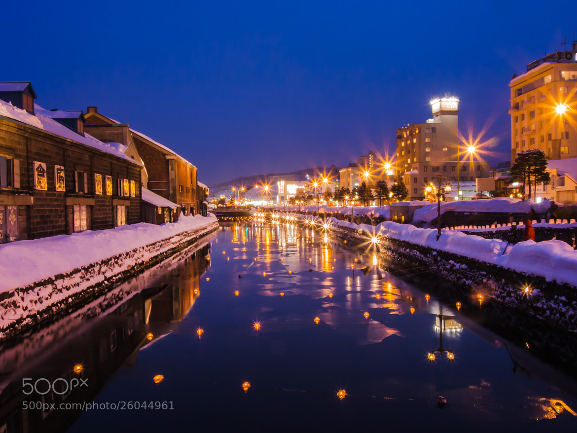 Photograph Otaru Canal at Blue Hour by alaine  on 500px