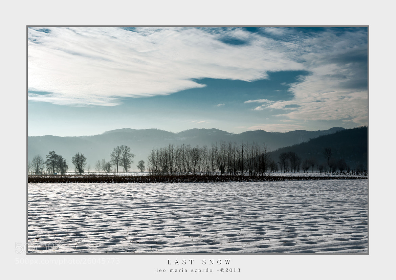 Photograph LAST SNOW by Leo Maria Scordo on 500px