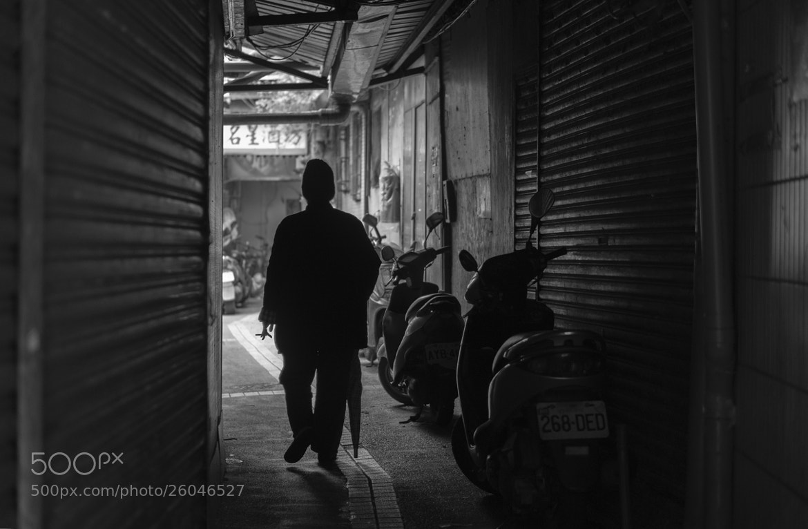 Photograph Dark Alley at Snake Alley by Erick Kurniawan on 500px