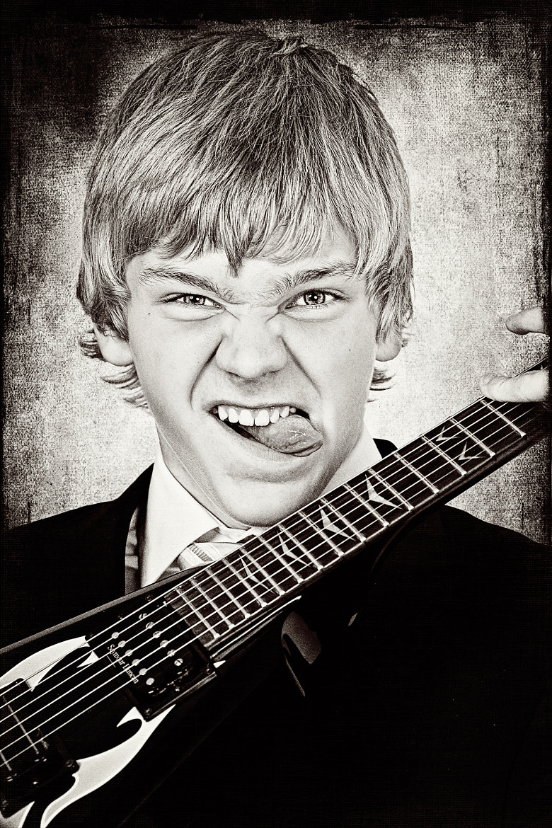 Photograph The Young Guitar Hero  by Pette Rissanen on 500px