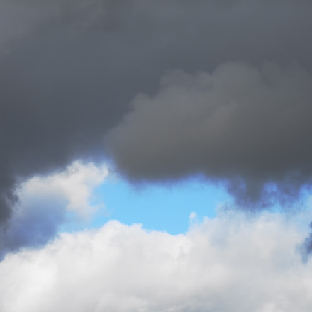 Bulutlar, Nikon D810, Sigma 70-200mm F2.8 EX DG OS HSM
