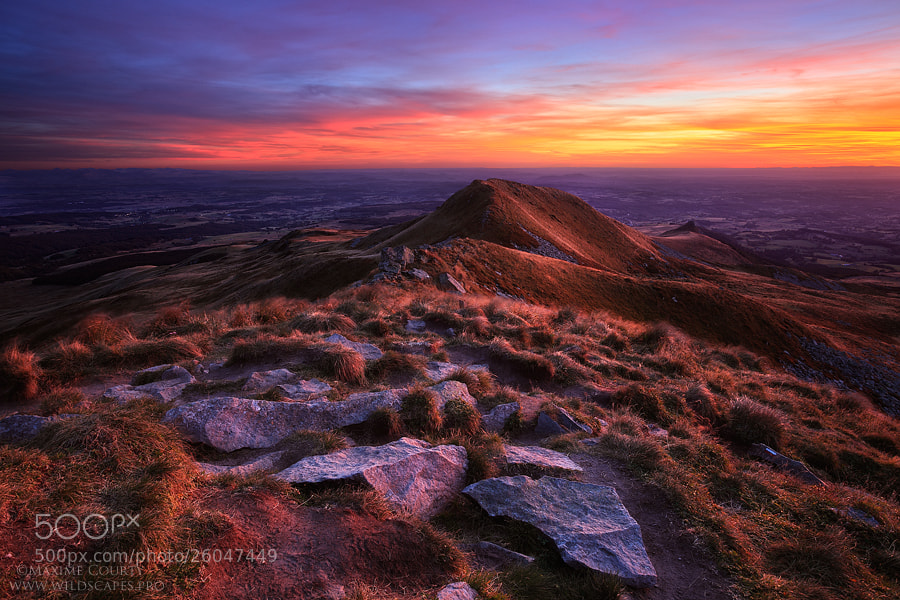 Photograph The Colors of Dusk by Maxime Courty on 500px