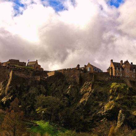 Edingburg Castle in Schottland, Sony ILCA-77M2, Sony DT 18-135mm F3.5-5.6 SAM (SAL18135)