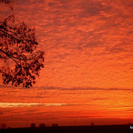blazing sky, Sony DSC-H50