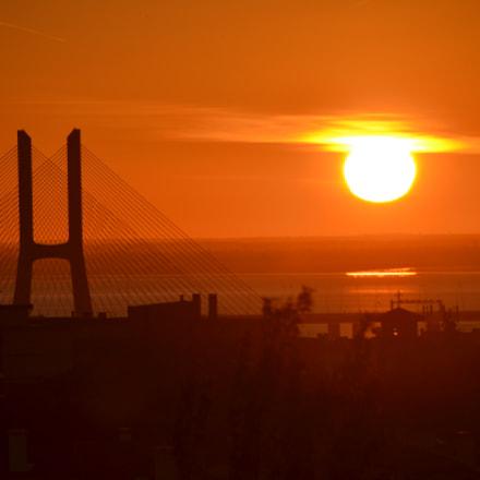 amanhecer, Nikon D3100, Sigma 18-250mm F3.5-6.3 DC OS HSM