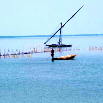 A Girl sailing in, Samsung Galaxy K Zoom