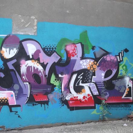 Jate Graffiti Old Market, Fujifilm FinePix JV250