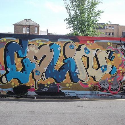 Calm Down Colin Graffiti, Fujifilm FinePix JV250