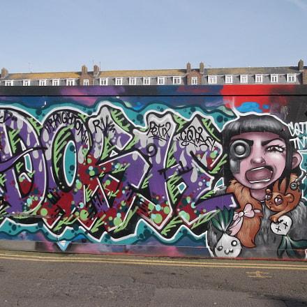 Cyber Dose Graffiti Old, Fujifilm FinePix JV250