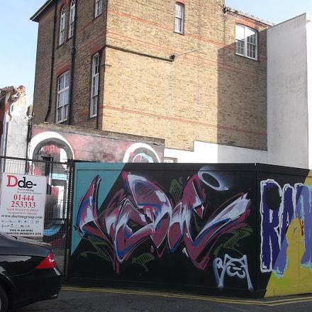 Purple Swirly Graffiti Old, Fujifilm FinePix JV250