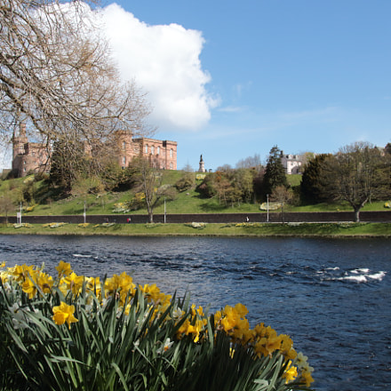 inverness Castle & river Ness, Canon EOS 7D MARK II, Sigma 18-250mm f/3.5-6.3 DC OS HSM
