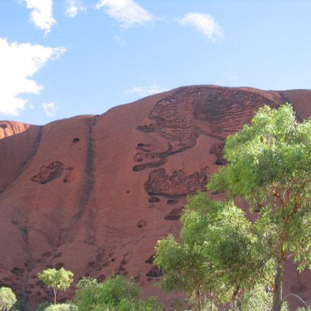 Uluru ( Olgas ), Canon POWERSHOT A70