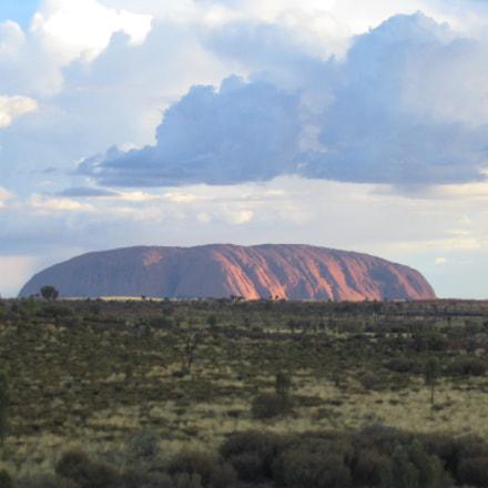 Uluru ( Ayers Rock), Canon POWERSHOT A70