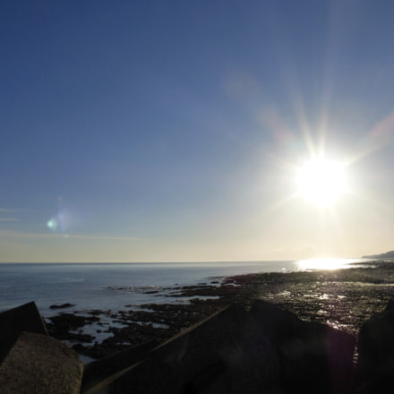 Port-en-Bessin sunrise, Panasonic DMC-TZ36
