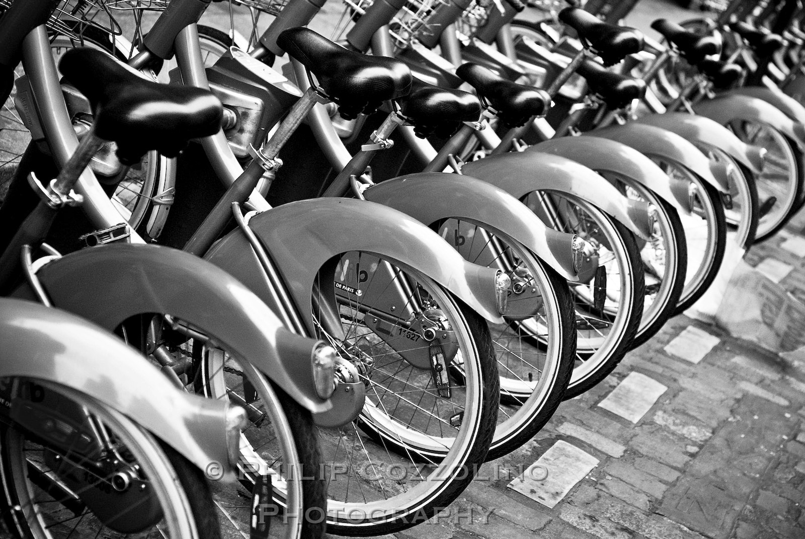 Photograph Paris Bikes by Philip Cozzolino on 500px
