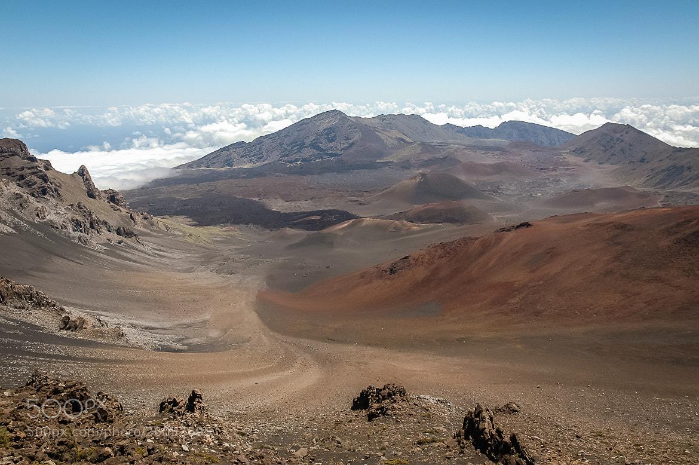 Photograph Haleakala Volcano Crater by Mark Ellison on 500px