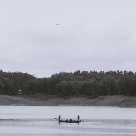 Through the lake, Sony DSC-H200