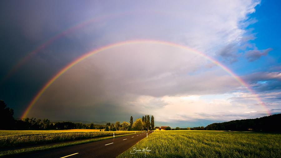 Double Rainbow, автор — Burim Muqa на 500px.com
