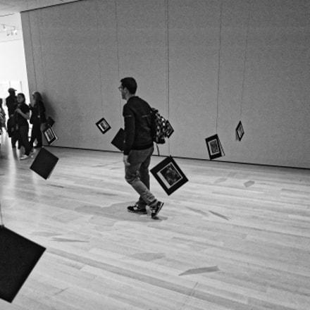 Walking with Books, Nikon D700, AF Nikkor 24mm f/2.8D