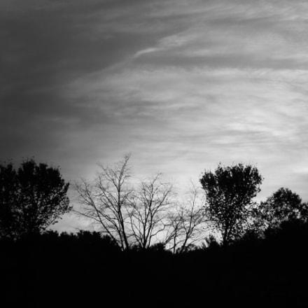 Sunset, Nikon COOLPIX L120